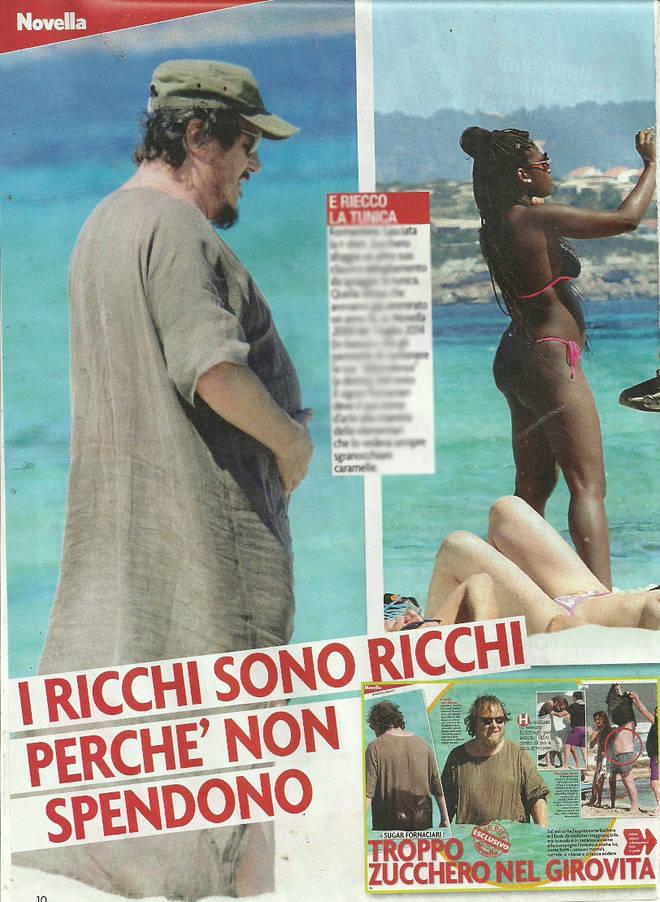 Zucchero a Formentera: estate in tunica con la moglie in topless
