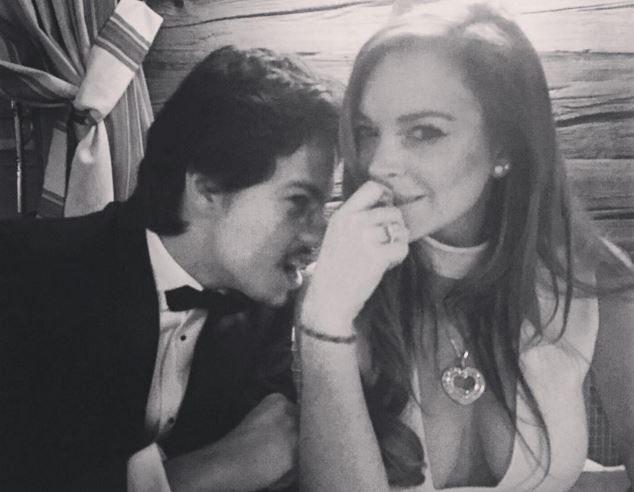 Lindsay Lohan sposa? Il portavoce smentisce, ma spunta l?anello