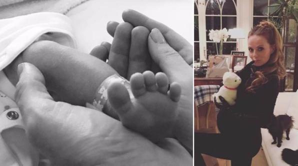 Geri Halliwell, mamma bis di un maschietto: i primi scatti social